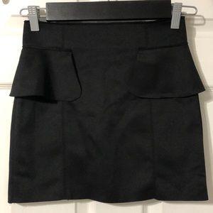 Nameless skirt black